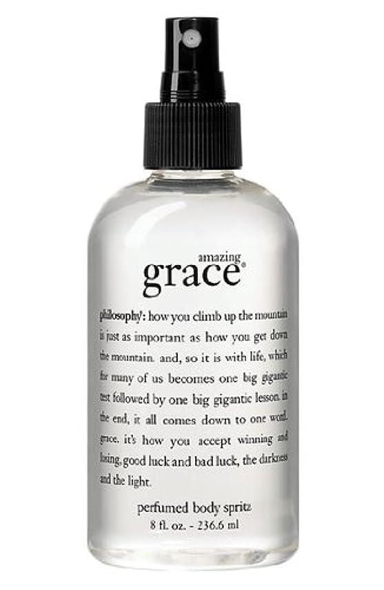 説教する神秘通行人amazing grace perfumed body spritz (アメイジング グレイス パフュームドボディースプリッツ) 8.0 oz (240ml) for Women