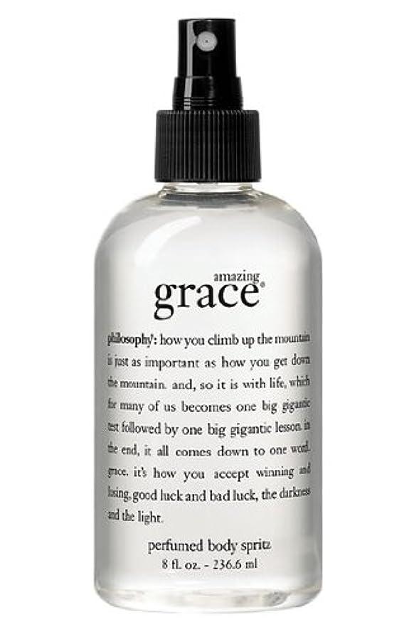 なめらかチーフ引退するamazing grace perfumed body spritz (アメイジング グレイス パフュームドボディースプリッツ) 8.0 oz (240ml) for Women