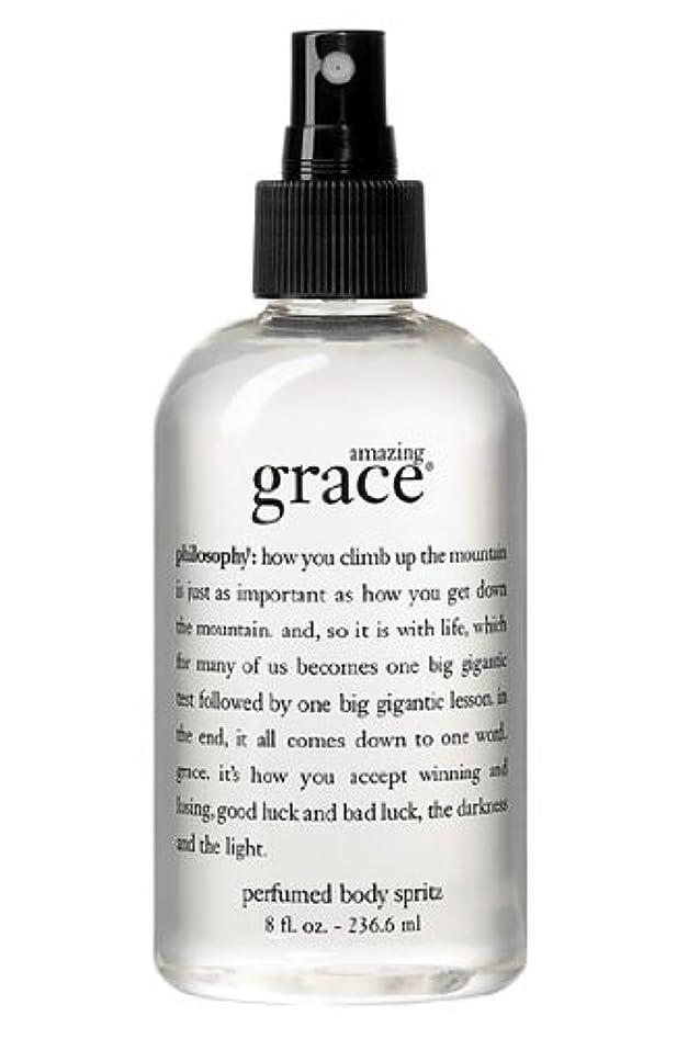 受け皿均等に優雅なamazing grace perfumed body spritz (アメイジング グレイス パフュームドボディースプリッツ) 8.0 oz (240ml) for Women