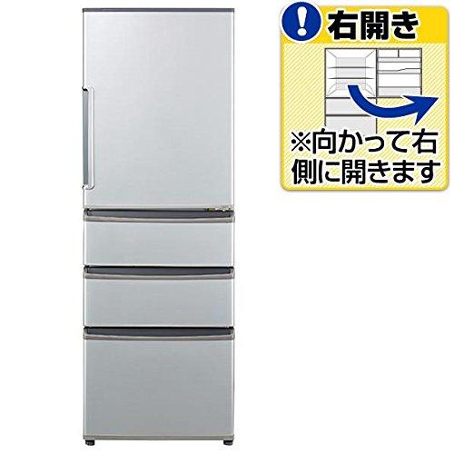 アクア 355L 4ドア冷蔵庫(ミスティシルバー)【右開き】A...