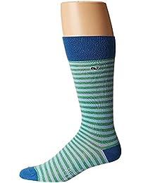 ヴィニヤードヴァインズ Vineyard Vines メンズ 靴下 ソックス Sea Kelp Fine Stripe Socks [並行輸入品]