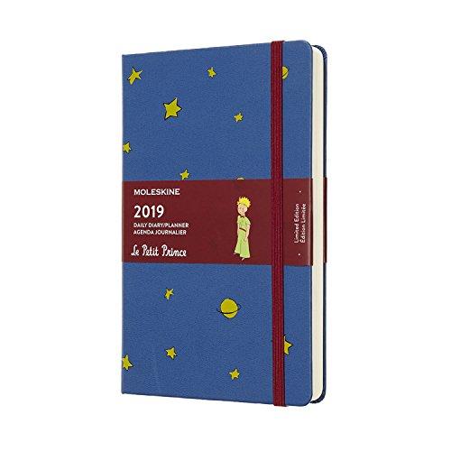 モレスキン 手帳 2019年1月始まり 12ヵ月-星の王子様 限定版 デイリ...
