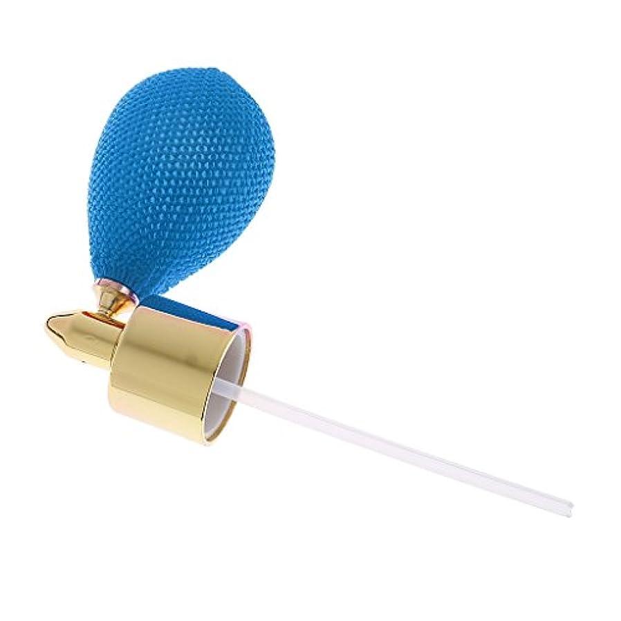 買収パトロンセールFityle クリスタル 香水ボトル 交換パーツ スプレーポンプ アトマイザー トラベル アクセサリー 全7色  - 青