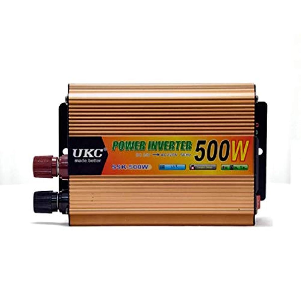 ガチョウ取り戻す区画500W車載電源インバーター24V?220V 500Wインバーター電源コンバーターインバーター電源車載インバーター。