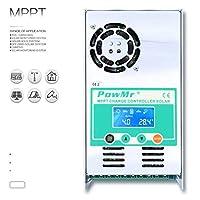 ソーラー充電コントローラー/MPPT 30A-60A充電コントローラー48V 36V 24V 12V自動最大190VDC入力ソーラーレギュレーター-60A