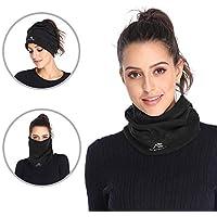 ANT EXPEDITION Fleece Neck Warmer Gaiter Windproof Face Mask for Men Women for Winter Ski Snowboard