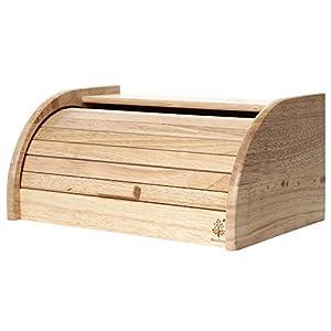 不二貿易 木製 ブレッドケース ボヌール キッチン雑貨シリーズ ナチュラル 94381