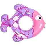 クラシック 男女兼用 浮き輪 レディース夏浮輪 水膨脹可能な脇の下の初心者子供水泳リング夏の携帯用プールビーチ浮遊プール装飾大人子供カップルブルー/ピンク メガ割引 ( Color : Pink )