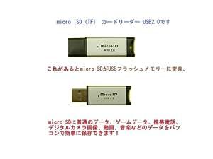 microSD/microSDHC カードリーダー