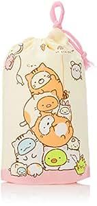 スケーター 子供用 コップ袋 21×15cm すみっコぐらし ぽかぽかねこびより 日本製 KB62