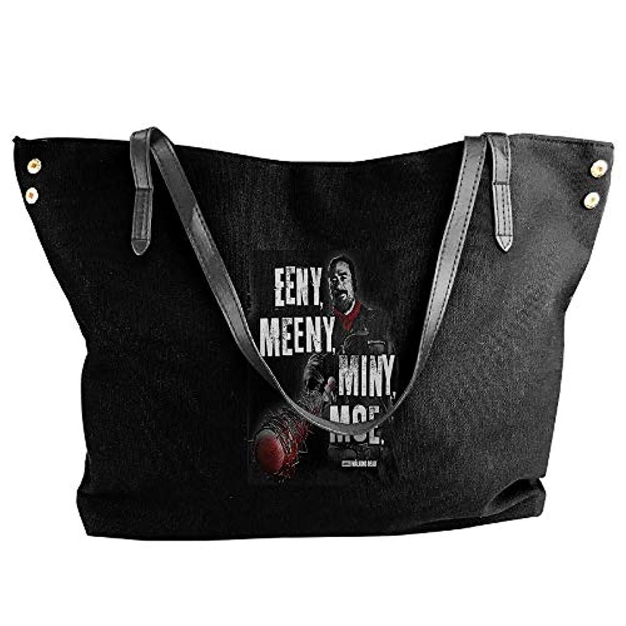 ホップ最初に吸い込む2019最新レディースバッグ ファッション若い女の子ストリートショッピングキャンバスのショルダーバッグ Walking Dead Eeny Meeny Miny Moe 人気のバッグ 大容量 リュック