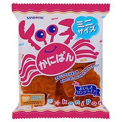 三立製菓 ミニかにぱん 90g×12袋入×(2ケース)