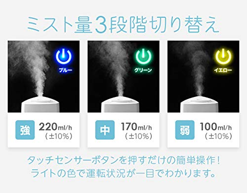 モダンデコ『SUNRIZE超音波加湿器PRESSE』