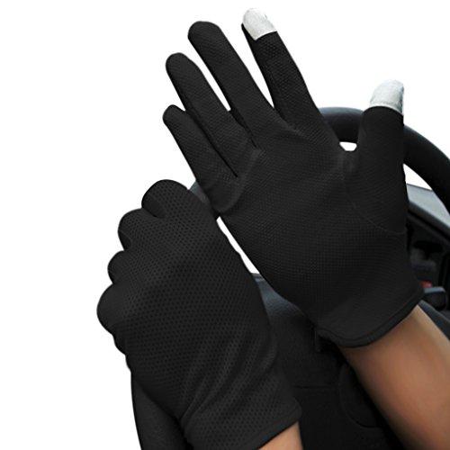 メンズグローブ UVカット 滑り止め タッチパネル対応 運転用 手袋 日焼け防止...