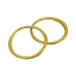 ノナカ リードワイヤー 輪 直径:0.4mm 全長:約16.5m×2本