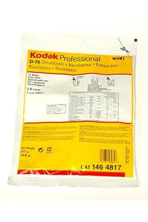 Kodak ケミカル デベロッパー D-76 1ガロン用 (粉末) 1464817