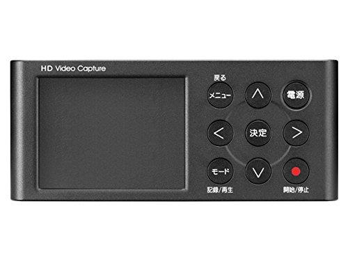 I-O DATA HDMIキャプチャー パソコン不要 ゲームプレイ動画 フルHD SDカード/HDD保存 GV-HDREC