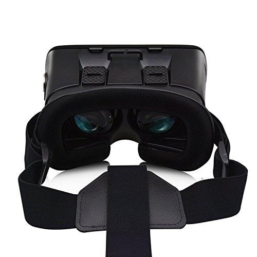 Cudevs VRゴーグル 3D VRメガネ VRヘッドセット 仮想現実 超3D映像効果 3.5 - 6インチのスマートフォンに対応