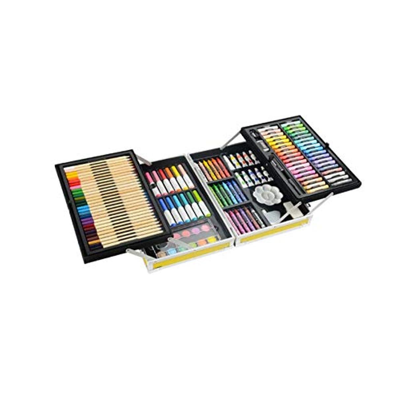弱まるメンダシティ端Chenjinxiang001 ペイントブラシ、132二重層アルミニウム合金モデルの完全なブラシセット、ハイエンドギフトボックス二重層収納デザイン、さまざまなタイプのブラシコレクション(スタイル1 /スタイル2 /スタイル3,132) 強い彩色 (Color : Style 2, Size : 132 colors)