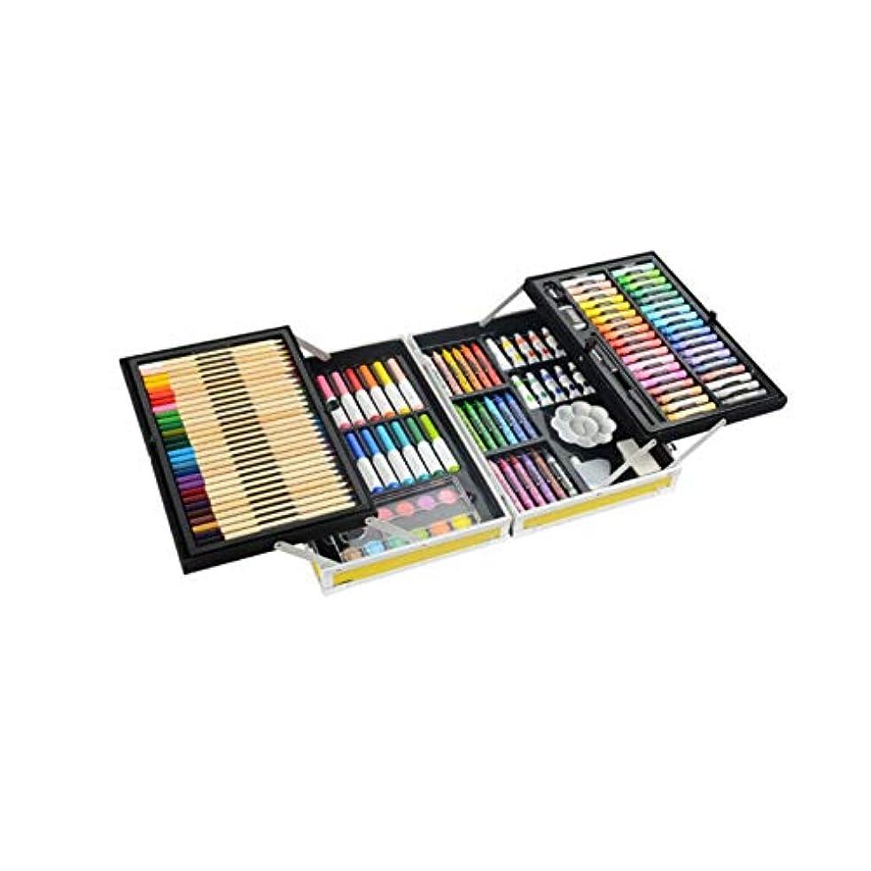 分析的な速記行進Boyuanweiye001 ペイントブラシ、132二重層アルミニウム合金モデルの完全なブラシセット、ハイエンドギフトボックス二重層収納デザイン、さまざまなタイプのブラシコレクション(スタイル1 /スタイル2 /スタイル3,132) 持ち運びが簡単 (Color : Style 2, Size : 132 colors)
