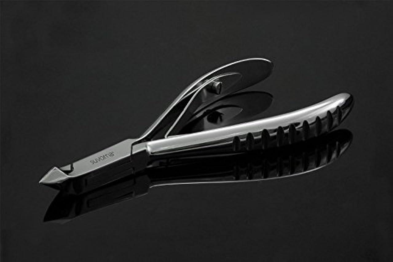 ドアミラー六月自分自身スヴォルナ マニプロ プロ仕様 キューティクル ネイル ニッパー カッター 革ケース 研磨スチール 3.2オンス (91g) (インポート)