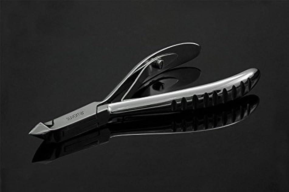起業家動かない警告スヴォルナ マニプロ プロ仕様 キューティクル ネイル ニッパー カッター 革ケース 研磨スチール 3.2オンス (91g) (インポート)