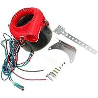 【ノーブランド 品】ABSプラスチック製 カー フェイク ダンプ 電子 ターボ ブロー オフ フーター バルブ  アナログ サウンド