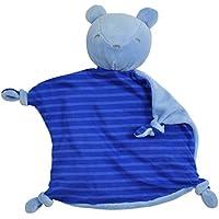 iplay Dream Window Organic Blankie (Animal-Royal Bear-3mo+) by i play. [並行輸入品]