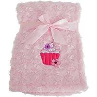 (スナグル?ベビー) Snuggle Baby 赤ちゃん?ベビー用 カップケーキ ベビーブランケット 毛布 ショール (100 × 75 cm) (ベビーピンク)