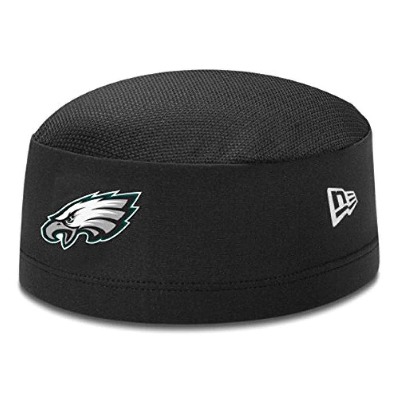 New Era(ニューエラ) NFL フィラデルフィア?イーグルス スカルキャップ Training Skull Performance Cap (ブラック)
