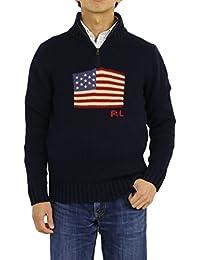 d88bed95e069ce (ポロ ラルフローレン) POLO Ralph Lauren ボーイズ アメリカ国旗 ハーフジップセーター ニット プル