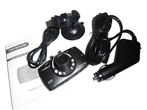 業界最大2.7インチ!フル画質!FHD多機能ドライブレコーダー/事故防止衝撃センサー付+駐車監視機能付/重量画像ロック付/防犯 車上荒らし
