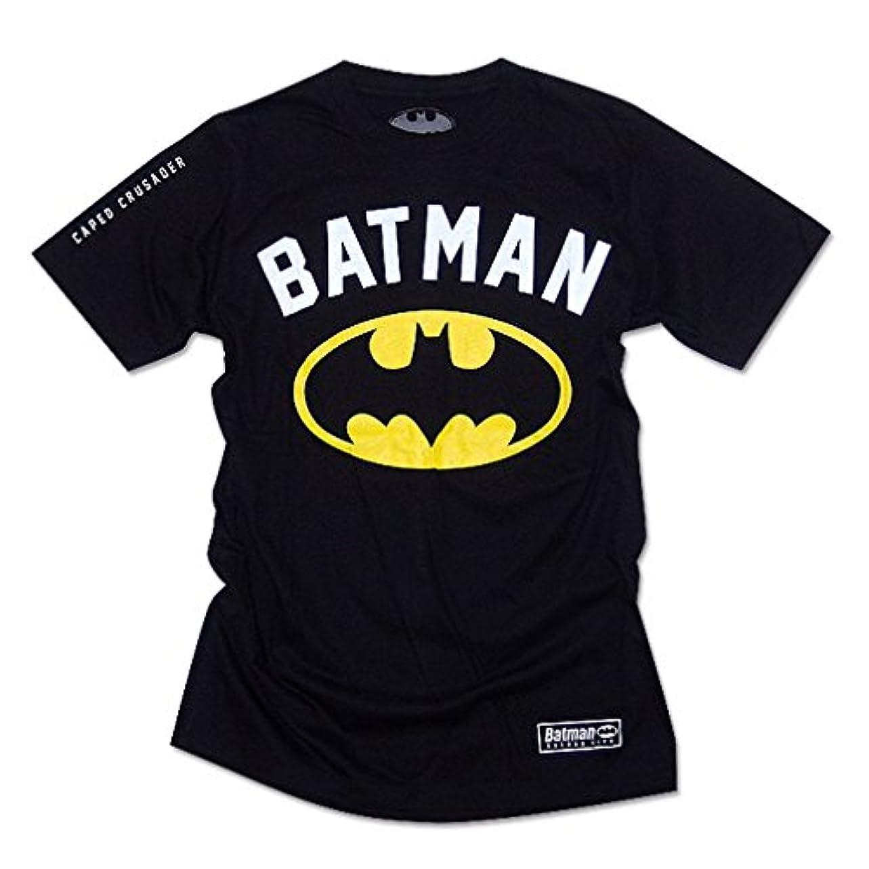 保険再生的デジタルバットマン Tシャツ グッズ メンズ tシャツ BATMAN アメコミ ブラック 黒 [並行輸入品]