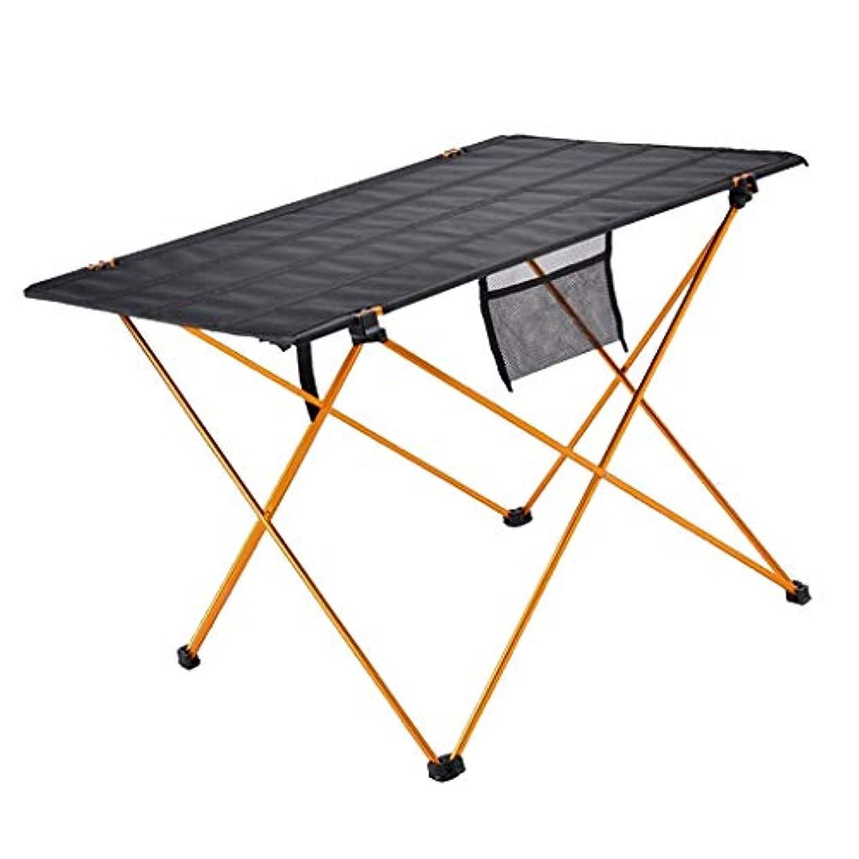 起きて検閲クルーP Prettyia 屋外 折りたたみ式 テーブル  BBQ キャンプ ピクニック ロールテーブル 収納バッグ付き 軽量 コンパクト