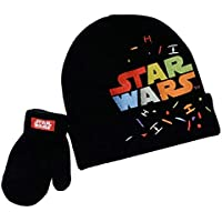 Star Wars Winter Hat and Glove Set, Boys Ages 1-4 Multicolor