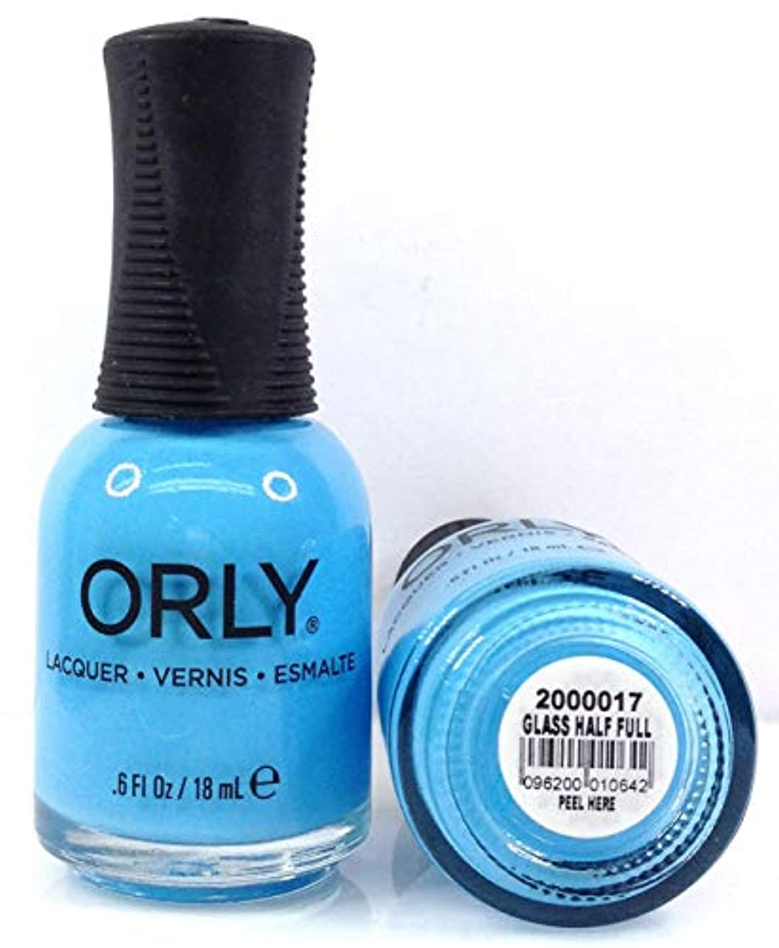 Orly Nail Lacquer - Radical Optimism 2019 Collection - Glass Half Full - 0.6 oz / 18 mL