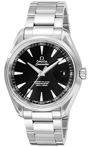 [オメガ]OMEGA 腕時計 シーマスター アクアテラ ブラック文字盤 コーアクシャル自動巻 裏蓋スケルトン 150M防水 231.10.42.21.01.003 メンズ 【並行輸入品】