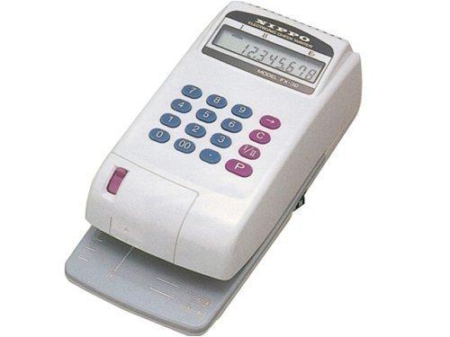 電子チェックライターFX-30FX-30 8桁