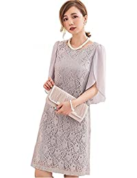 e874130105e9a Amazon.co.jp  グレー - パーティードレス   ワンピース・ドレス  服 ...