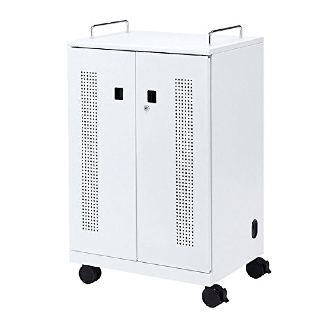 誤解させるホバート構造的SANWA SUPPLY(サンワサプライ) タブレット収納キャビネット(40台収納) CAI-CAB102W