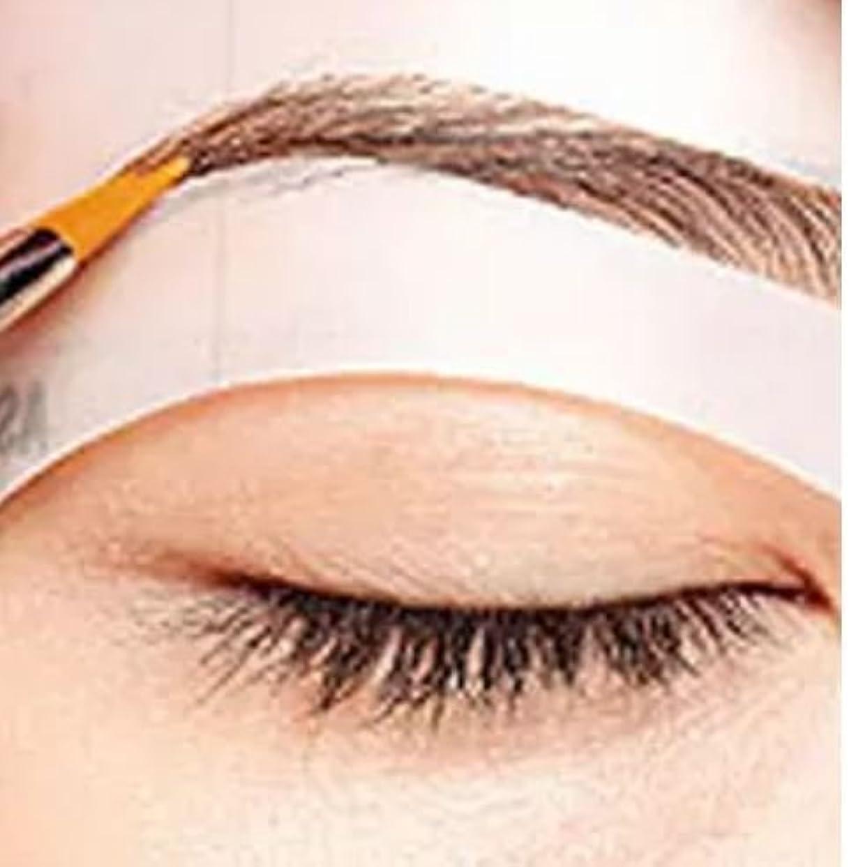 不機嫌そうなマウンド微生物Gydoxy(TM Eyebrow stencils 3 styles reusable eyebrow drawing guide card brow template DIY make up tools