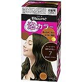 【花王】ブローネ泡カラー 7 黒みのダークブラウン 108ml ×5個セット