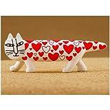 カプセルQミュージアム リサ?ラーソン マイキー Mikey Lots of cats Collection [4.ラブ(Love cat)](単品)