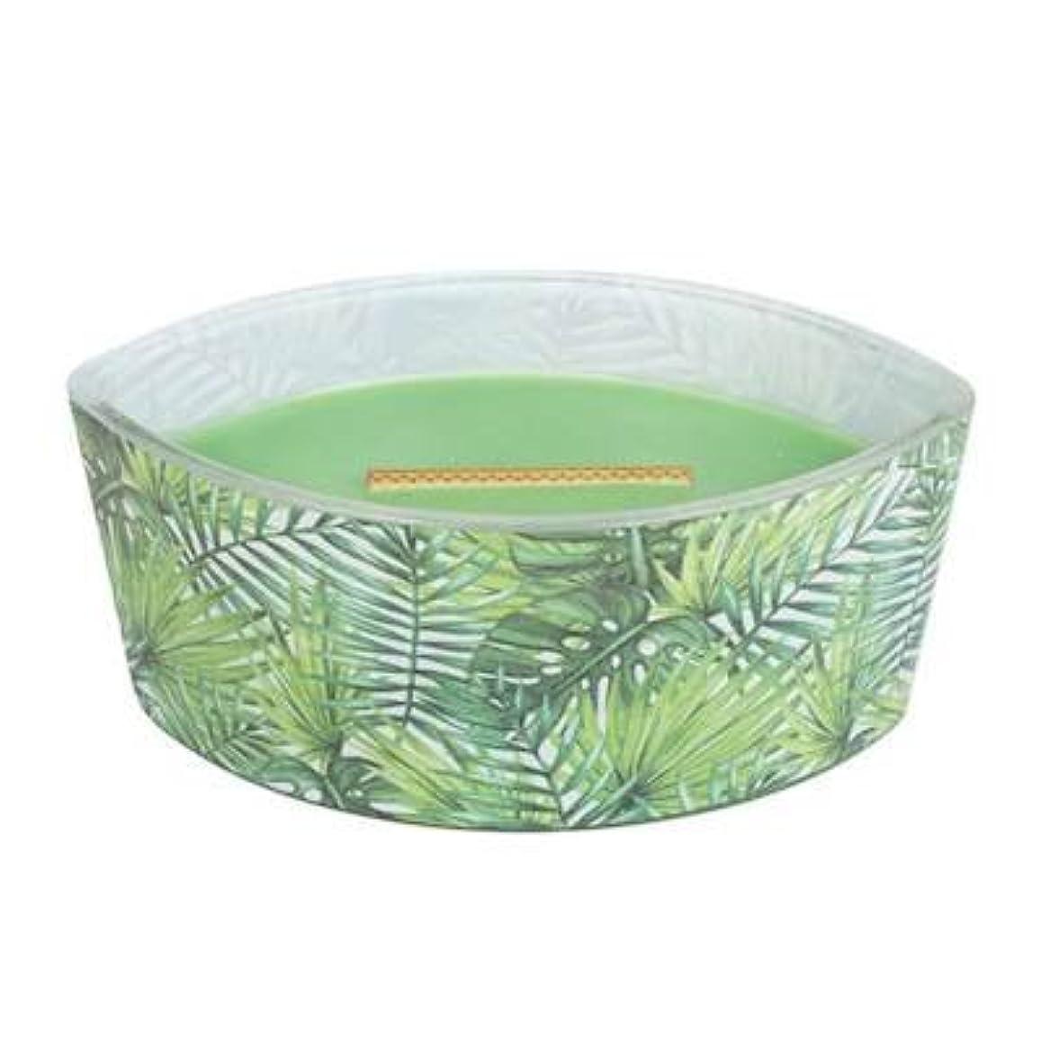 どのくらいの頻度で時代接辞Palm Leaf – デカール楕円HearthWick Flame Scented Candle by WoodWick