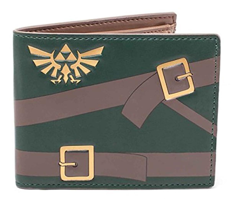 トランスペアレント欲望瞳Legend of Zelda 財布 Link outfit 新しい 公式 Nintendo Bifold