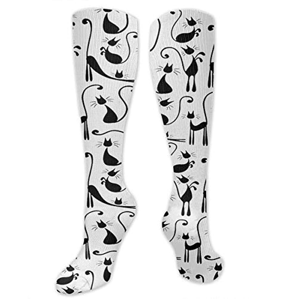 発動機変装したクリーム靴下,ストッキング,野生のジョーカー,実際,秋の本質,冬必須,サマーウェア&RBXAA Large Number Cats Fashion Socks Women's Winter Cotton Long Tube Socks...