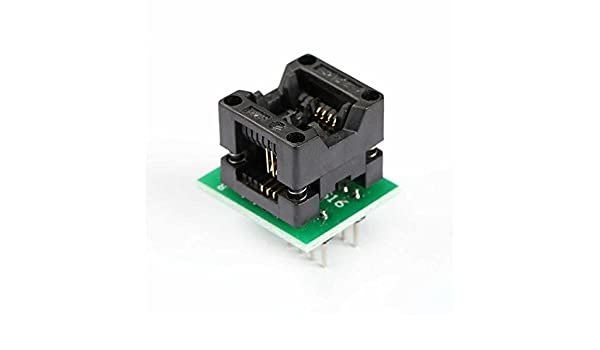 2x SOIC8 SOP8 to DIP8 EZ Programmer Adapter Socket Converter Module With 150mil