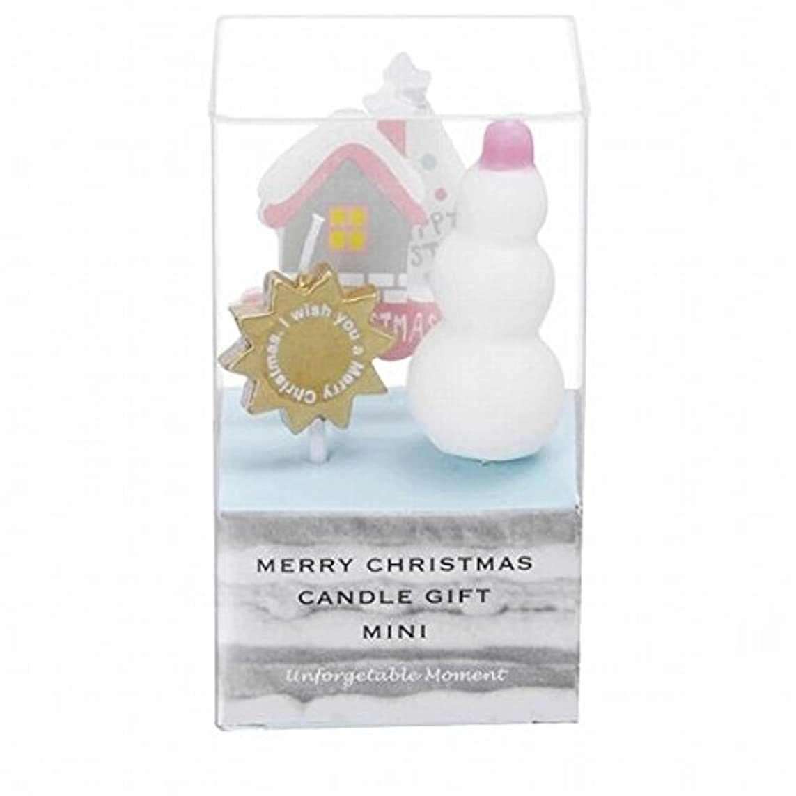 盆実行する誇張するkameyama candle(カメヤマキャンドル) クリスマスキャンドルギフトミニ 「 B 」(55350050)