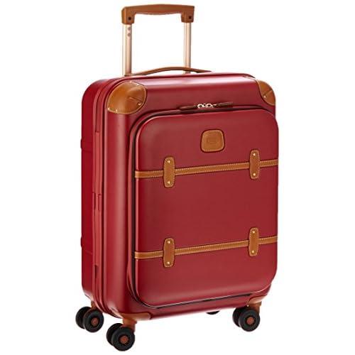 [ブリックス] BRIC'S スーツケース ベラージオフロントポケット付きモデル 機内持込サイズ 43L 3.4kg  [2年保証] BBG08311 190 (レッド)