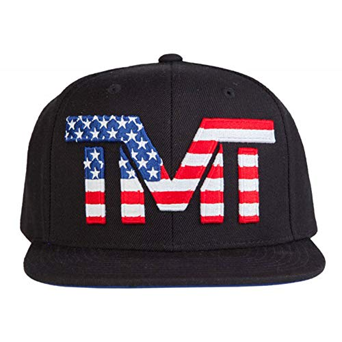 (ザ・マネーチーム) THE MONEY TEAM tmt-h53-2kb THE MONEY TEAM ザ・マネーチーム INDEPENDENCE (BLUE) キャップ 国旗ロゴ x ブラックベース 刺繍
